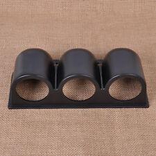 "52mm 2"" 3 Triple Hole Universal Car Meter Panel Dash Gauge Mount Holder Pod ABS"