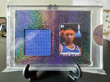 CARMELO ANTHONY 2020 Super Break THE BAR 1/1 sparkle Jersey PATCH Relic Stamp