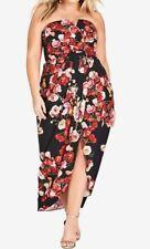 City Chic L 20 Maxi Valentina Floral Formal Dress