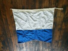 """Canvas Signal Flag letter A 34"""" x 36"""" US Navy Size 6 nautical"""