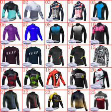 2020 winter warmer cycling long sleeve jersey mens thermal fleece bicycle shirt