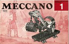 3 Catalogues Meccano anciens.+ de 120 pages au total.
