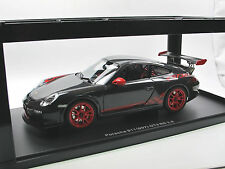 Autoart 78141 - 2010 PORSCHE 911 (997) gt3 RS 3.8 Grigio/Rosso 1/18 OVP