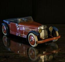 Meccano constructor car No1 pre war avant guerre tin toy