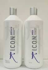 Icon Drench Moisturizing Shampoo plus Conditioner 33.8 oz 1 Liter 2 PACK SPECIAL