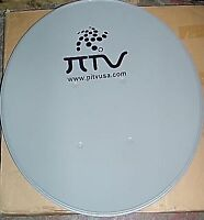 TWO 60CM / 24 Inch Satellite Dish Mounting Hardware FTA Antenna International TV