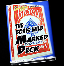 The Boris Wild Marked Deck (RED) by Boris Wild from Murphy's Magic