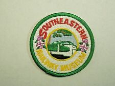 Vintage Southeastern Railway Museum Located in Georgia Tourist Iron On Patch
