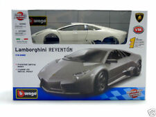 Véhicules miniatures blancs Burago pour Lamborghini