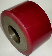 FORK LIFT TRUCK REPLACEMENT WHEEL CASTER HUB TREAD WH-480 92A SOLID RUBBER TIRE
