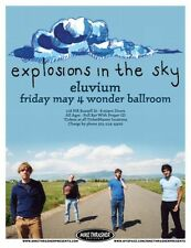 EXPLOSIONS IN THE SKY 2007 Gig POSTER Portland Oregon Concert