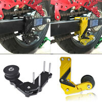 Universal Aluminum Alloy Motorcycle Adjustable Chain Tensioner Adjuster Roller