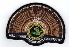 2010 MICHIGAN DNR SUCCESSFUL TURKEY-DEER HUNTER PATCH -HUNTING LICENSES- PINBACK