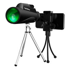 Monocular Telescope, 12x50 HD Waterproof High Power Spotting Scopes for Adults
