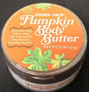 🎃Trader Joe's Pumpkin Body Butter Lotion Cream Coconut Oil Shea Butter  8oz 🎃