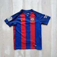 Messi Barcelona Home football shirt 2016 - 2017 Nike 777029-481 Size Young M