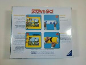 """Ravensburger Puzzle Stow & Go Yellow Mat 46"""" X 26"""" New & Sealed"""