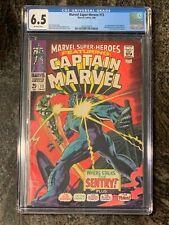 Marvel Super-Heroes # 13 CGC 6.5 1st Carol Danvers