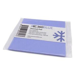EC360® BLUE 5W/mK Wärmeleitpad (100 x 100 x 1,0 mm) I GPU RAM ThermalPad