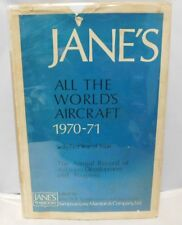 Jane's All The World's Aircraft 1970-71 Book With Dust Jacket 61st Year Of Issue