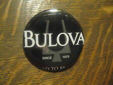 Bulova Watch 2012 Advertisement Promo Logo Compact Mirror FREE USA Shipping $20
