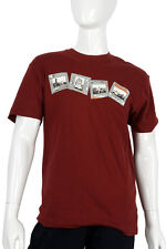 Bench -Small- $44 Men's Maroon Vacation Memories Pictures Slides T-Shirt NWT TEE