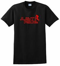 JUST RIDE BMX YOUTH T SHIRT BIKE BICYCLE GT HARO RACE