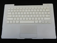 """White Top Case US Keyboard Trackpad Touchpad for MacBook 13"""" A1181 2006 Mid 2007"""