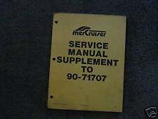 MERCRUISER SERVICE MANUAL'S--ENGINES & DRIVES --ALL