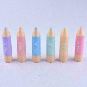 Natural Colorful Pencil Shape Colorless Lip Care Moisture H9X0 Stu Girl B0X5