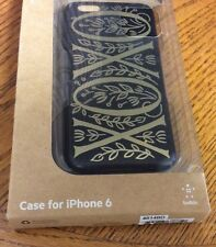 Tanamachi Goods case for iPhone 6 by Belkin XOXO black gold new F8
