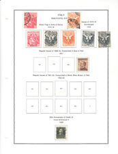 MNH & MINT HINGED & USED ITALY #B1/B46 SEMI-POSTAL COLLECTION CV$796.80