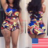Womens Bikini Set High Waisted Swimsuit Push Up Padded Bra Swimwear Bathing Suit