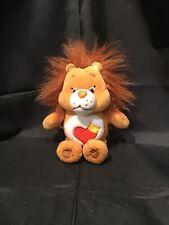 Care Bears & Cousins Brave Heart Lion Plush Stuffed Animal 2016. (A14)