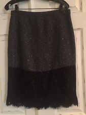 J Crew High Waisted Perfect Party Lace Skirt Sz 10