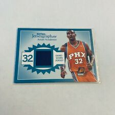 F79301  2003-04 SkyBox Autographics Jerseygraphics #AS Amare Stoudemire/350
