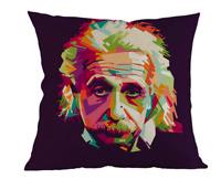 ALBERT EINSTEIN POP ART Cushion Cover! Scientist Science Abstract Case 45cm Gift