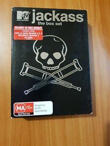 Jackass: The Box Set (DVD, 2005, 4-Disc Set)