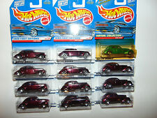 12) Hot Wheels 1936 Cord 19642 27064 1/26 VINTAGE DIECAST 1999 First Edition HW