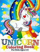 Unicorn Coloring Book for Kids Ages 4-8 by Two Hoots Coloring PAPERBACK