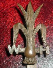 CAP BADGES-ORIGINAL WW1 WELSH HORSE YEOMANRY 1914-1917
