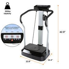 Plateforme Vibrante 2000W Plateforme oscillante PlateForme de Vibration Fitness