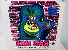 NOS Vtg Iron On Heat Transfer 70s 80s Daytona Beach Big Daddy Rat Rats Hole