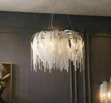 Aluminium Pendant Lights Dining Room Luxury Incandescent Bulb Lighting Fixtures