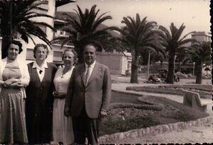 FOTO DEL LUNGOMARE DI LOANO O FINALE LIGURE  - 1958 -   C8-364