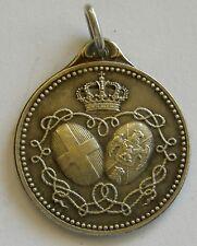c939 Queen Elena of Montenegro Italy Albania silver medal