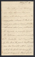 Queen Caroline of Brunswick King George IV Wife Signed Autograph Letter 1810