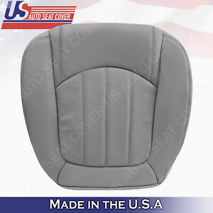 2008 to 2012 Buick Enclave Passenger Bottom Perforated Leather Gray Seat Cover