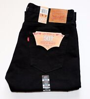NEW LEVI'S MADE IN USA 501 ORIGINAL FIT  MEN'S JEANS Cone Mills White Oak Black