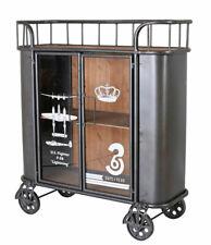 Beistellwagen Retro Barwagen Teewagen Küchenregal Küchenwagen Metallschrank